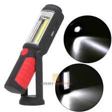 COB LED Flashlight Magnetic Work Light USB Rechargeable Power Bank Torch Lamp