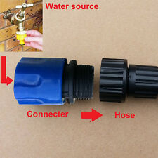 2Pcs/set Garden Hose Stretch Adaptors Connector Quick Connect Tap Spray