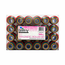 Brittny Professional Magnetic Hair Roller Set Assorted 144pc #BR52062