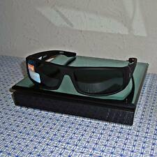 Spy Men's Cooper 670195973863 Matte Black Frame/Grey Lens  Rectangle Sunglasses