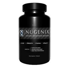NEW NUGENIX Natural Testosterone Booster LIBIDO SEX DRIVE 90 Capsules 24 HR SHIP
