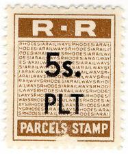 (B) la Rhodesia ferrovie: particelle TIMBRO 5 / -