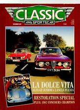 CLASSIC AND SPORTS CAR MAGAZINE - December 1987