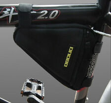Triangle Bag Pipe Pouch Carrier Bicycle Cycling Bike Frame Pannier Front Tube