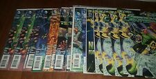 GREEN LANTERN 16 Total Issues New 52 Before Rebirth Comic HUGE LOT