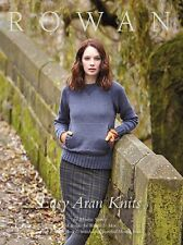 ROWAN EASY ARAN  KNITTING PATTERN BOOK - Martin Storey