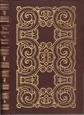 The Essayes, or Counsels Civill & Morall of Francis Bacon. Easton Press