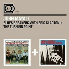 JOHN MAYALL - 2 FOR 1:BLUESBREAKERS WITH ERIC CL./TURNING POINT 2 CD NEU