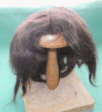 Mohairperücke dunkelbraun antik 32/33/doll wig mohair dark brown short