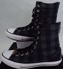 New Womens CONVERSE 7 CT Hi Rise Wool Winter Boots Plaid Shoes $90 549686C