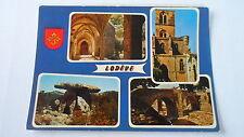 Lodève - Intérieur du Cloître - La Cathédrale Saint Fulcran - Dolmen de Grammont