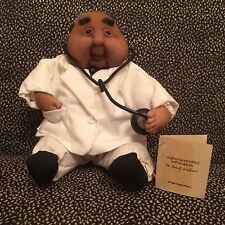 Handcrafted Soft Sculpture Emily Wilson Doctor Doll 1981 - New With Tag