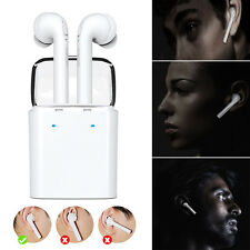Wireless Bluetooth In-ear Headphones Stereo Headset for iPhone 7 Airpods Android