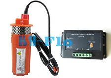NEW 24V DC Solar Submersibel water Pump+15A controller  Farm & Ranch 230FT+ Lift