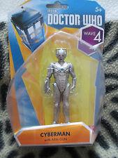 Doctor Who Wave 4, diez Cyberman con brazo pistola 3.75 figuras