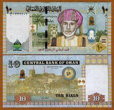 Oman, 10 Rials, 2010 (2011), Pick 45 UNC   Commemorative Hybrid Polymer