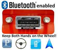 Bluetooth Enabled Stereo for 64-66 Mustang AM FM Radio 300 watts USB, iPOD