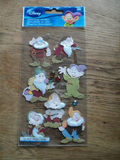 EK SUCCESS DISNEY SEVEN DWARFS STICKERS BNIP