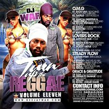 TURN UP THE REGGAE  VOLUME 11 REGGAE LOVERS ROCK MIX CD
