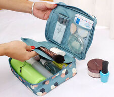Travel Cosmetic Makeup Toiletry Case Bag Wash Organizer Storage Pouch Handbag  B