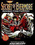 Secret of Evermore Authorized Power Play Guide (Secrets of the Games Series.), (