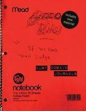 Kurt Cobain Journals by Kurt Cobain (2003, Paperback)