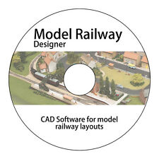Design & Build Model Railway Layouts Track Plans CAD Software Hornby OO Gauge  v