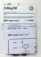 Grex Replacement O-Ring Kit for P645 P645L P650 P650L Pinner - Part #  P645KD