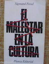 El malestar en la cultura/ Sigmund Freud/ Alianza Editorial/ 1992/ 16ª edición