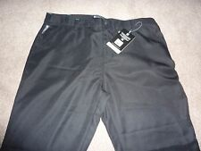 New NWT Mountain Warehouse tailored fit women's golf trousers, teflon, black. 18