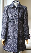 CHANEL TWEED CASHMERE COAT FR 38 UK 10 US 6