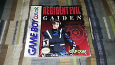 Resident Evil Gaiden (Nintendo Game Boy Color, 2002) New Factory Sealed RARE!!