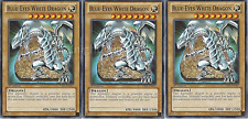 Blue-Eyes White Dragon Deck - Red-Eyes Darkness Metal Dragon - Azure Eyes Dragon