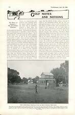 1905 Italian Yacht Magdalen Golf West Africa Clubhouse Freetown