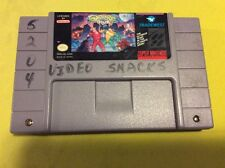 BATTLETOADS/DOUBLE DRAGON Super Nintendo (USED) Tested Working **HOT**
