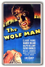 THE WOLF MAN 1941 FRIDGE MAGNET IMAN NEVERA