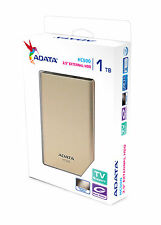 "ADATA HC500 1TB TV Recording Cloud 2.5"" Portable External Hard Drive 1 TB HDD"