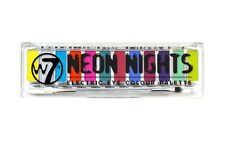 W7 Neon NIGHTS 12 Electric Eye Colour Eyeshadow Palette