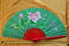 Tai Chi Eventail-éventail-Tai Ji Fan-abanico-Angebot-ventaglio-pivoine vert