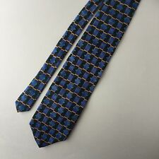 Cocktail Collection Martini Mens Neck Tie Blue Green Gold Gray