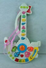 Kids Toy Puzzle Guitar - Early learn musical toy, colours, animals - Ages 3+ VGC