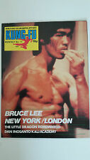 Bruce Lee Kung Fu Monthly KFM poster magazine No 77 RARE issue