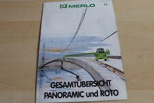 139689) Merlo - Gesamtprogramm - Roto Panoramic Prospekt 1999