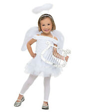 Toddler Girls White Little Angel Heaven Church Dress Up Halloween Costume L
