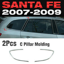 Chrome C Pillar Molding Cover Garnish A317 Kit For HYUNDAI 2007-2009 Santa Fe CM