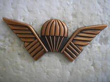 FOREIGN BADGES - RHODESIAN JUMP WINGS