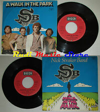 LP 45 7'' NSB NICK STRAKER BAND A walk in park Something 1979 germany cd mc dvd