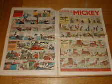 LE JOURNAL DE MICKEY French Comic - No 253 - Date 20/08/1939 French Paper Comic