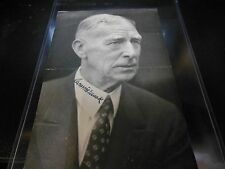 CONNIE MACK AUTOGRAPHED BASEBALL REGISTER PICTURE MLB MANAGER RARE
