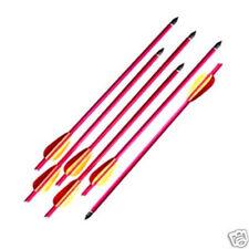 "6 pcs 16"" ALUMINUM METAL BOLTS ARROWS FOR 150 & 180 lb CROSSBOW ARCHERY XBOW bow"